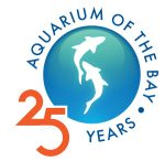 Aquarium of the Bay - 25 Years Logo