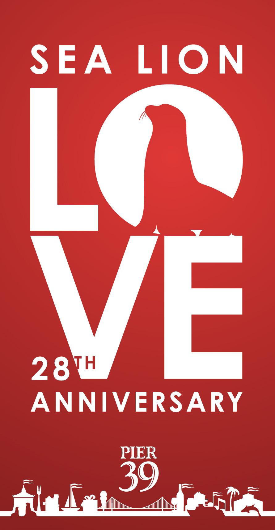 Sea Lion Love, 28th Anniversary, PIER 39